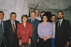 1a Festa della Sibilla, Genova 1990: la prima redazione della Sibilla. Guido, Ser Berto, Calipso, Brand, Pipino, L'Incas, Gipsy, Edgar, Enrico
