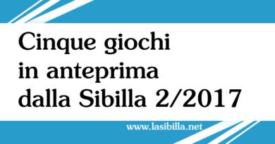 Anteprima della Sibilla 2/2017